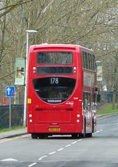 GAL E269 - SN62DHK - TUDWAY ROAD KIDBROOKE - SAT 19TH JAN 2019 (Bexleybus) Tags: go ahead goahead london tudway road kidbrooke village ferrier estate se3 tfl route 178 adl dennis enviro 400 e269 sn62dhk