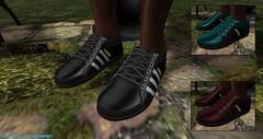Samba (syddarkaless) Tags: tcod design mesh unrigged sneakers samba travis textures hud menu rezise