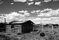 the-fixer-upper (Manhattan Girl) Tags: rural bwphotography abandoned decay monochrome collaboration cloudscapes