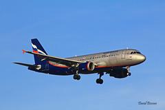 Airbus A320 ~ VP-BQW  Aeroflot (Aero.passion DBC-1) Tags: spotting cdg 2013 dbc1 david aeropassion biscove aviation airport roissy aircraft avion plane airlines airliner airbus a320 ~ vpbqw aeroflot