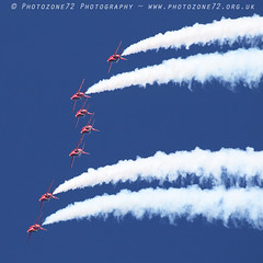 9936 7 ship loop R1 R2 R3 R5 R6 R7 R9 (photozone72) Tags: raf rafat redarrows reds redwhiteblue aviation aircraft jets hawk canon canon100400f4556lii canon7dmk2 7dmk2 scampton lincolnshire