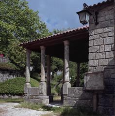 Our Lady of the Calvary (lebre.jaime) Tags: portugal beira covilhã chapel ourladyofthecalvary architecture romanesque hasselblad 503cx planar cf2880 film film120 120 analogic mf mediumformat kodak portra160 portra160120 epson v600 affinity affinityphoto 6x6
