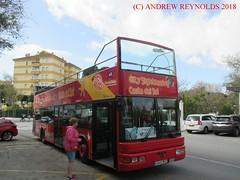 "2018 031101 MAN NL223F SERCAR O47-22D OPENTOP DOUBLEDECK BUS  2001 Malaga Tour City Sightseeing Costa Del Sol 4846 BKZ IN BENALMADINA (Andrew Reynolds transport view) Tags: europe spain andalucia transport bus coach transit passenger omnibus diesel ""mass transit"" 2018 031101 man nl223f sercar o4722d opentop doubledeck 2001 malaga tour city sightseeing costa del sol 4846 bkz in benalmadina"