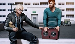 Pump up the volume (Scar Requiem) Tags: burley nativeurban uber bondi cult blackbantam wrong modulus badunicorn gachagarden secondlife mensfashion divostitanium man cave