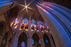 Washington National Cathedral (Erinn Shirley) Tags: erinnshirley washingtondc washingtonnationalcathedral cathedral architecture light stainedglass photography