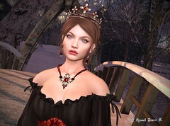 Virtual Trends: Princess Arualblues (Anaelah ~ Miss Virtual Diva ♛ 2018) Tags: national coth5 shop maitreya fun fence outside design bar nature blue beauty secondlife sl style shopping jewelry fashion news virtual avatar glamour glamorous outdoor anaelstarr photoshop creative butterfly flower shadows contrast photography fantasy sexy anaelah weather snow puertorico model latinoamerica landscape town digitalart modeling flickr newyork 6d 3d people scenery fleur flor artist artista bright digital texture stars belleza lady natural seascape virtualdiva zurijewelry