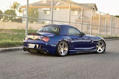 BMW E85 Z4M x Leon Hardiritt Orden (violetnites) Tags: bmw e85 e86 z4m z4 m roadster coupe hamann rieger tuning super star wheels leon hardiritt orden ordens skyer lowered modified