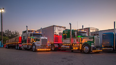 Grimes Enterprises (NoVa Truck & Transport Photos) Tags: kenworth w900 grimes enterprises dailey wv truck big rig 18 wheeler 2017 large car mag southern classic ta lexington va