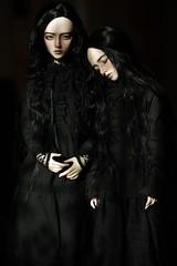 dark portrait (dolls of milena) Tags: bjd abjd resin doll emma elfdoll portrait dark