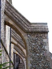 Wangford, Suffolk, UK (mira66) Tags: gwuk wangford church buttress flint sspeterpaul suffolk
