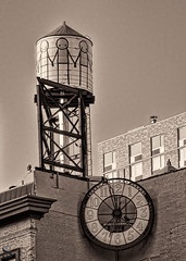 1 sepia water tanks 3 (Singing With Light) Tags: 13th 2016 alpha6000 gulfbeach mirrorless ny nyc singingwithlight sonya6000 unionsquare watertank july photography singingwithlightphotography sony sunset