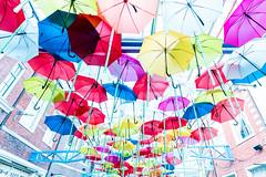 Umbrella Street (yuibb123) Tags: sel1635gm huistenbosch ハウステンボス umbrella parasol