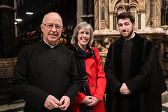 Cathedral and Diocese Bid Fond Farwell To Ian & Ruth