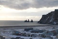 Sea stacks (Bird Aficionado Stan) Tags: iceland southwesticeland blacksand blacksandbeach seaformations seastacks