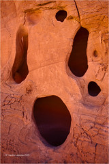 The Scream (Sandra Lipproß) Tags: nevada valleyoffire rocks usa southwest redrockcountry pareidolia face scream statepark redrock travel outdoor