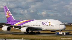 Thai A380 (Ramon Kok) Tags: a380 a380800 avgeek avporn airbus airbusa380 airbusa380800 aircraft airline airlines airplane airport airways aviation eddf fra flughafenfrankfurtammain frankfurt frankfurtairport frankfurtammainairport fraport germany hstuc tg tha thaiairways thaiairwaysinternational