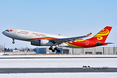 B-5979 Hainan Airlines Airbus A330-243 DSC_4110 (Ron Kube Photography) Tags: aircraft plane flight airliner nikon nikond7200 d7200 ronkubephotography yyc calgary calgaryinternationalairport b5979