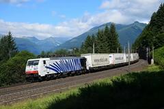 189 907, TEC 41853. Penk (M. Kolenig) Tags: 189 ekol tauernbahn berg baum