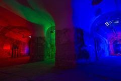 11, 2 & 10 (Nocturnal Kansas) Tags: night nocturnal fullmoon easternstatepenitentiary penitentiary prison cell cellblock jail nightphotography lightpainting led1 protomachines flashlight d800 nikon