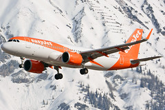 G-UZHT (toptag) Tags: airbusa320251n guzht inn lowi innsbruck austria tirol easyjet winter snow mountain aviation