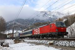 ÖBB 1293 037-8 RoLa Schiebelok, Matrei am Brenner (michaelgoll777) Tags: öbb vectron 1293