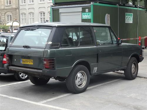 1993 Range Rover Van