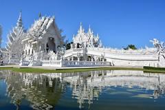 Wat Rong Khun near Chiang Rai (Northern Thailand 2018)