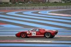 FORD GT40 MkI - 1964 (SASSAchris) Tags: ford gt40 mk1 mki voiture américaine 10000 tours castellet circuit ricard endurance