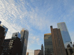 2019 March Morning Light Clouds 3518 (Brechtbug) Tags: 2019 march morning light clouds virtual clock tower from hells kitchen clinton near times square broadway nyc 03112019 new york city midtown manhattan winter spring weather building breezy cloud hell s nemo southern view