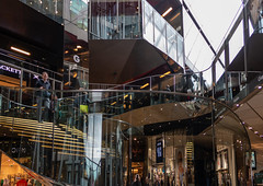 Glass Shopping Centre (peterhagger677) Tags: 2019 london march2019 buildings shops glass metal