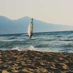 Windsurfing (zenziyan) Tags: surf wind wave windsurfing sea bay sand kusadasi beach guzelcamli