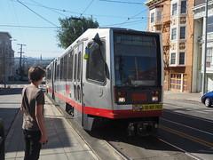 P9193013 (bentchristensen14) Tags: usa unitedstatesofamerica california sanfrancisco churchstreet tram j