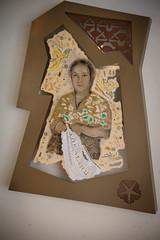 Gabriella Ciancimino - Liberty Flowers  mixed media 119x229x8 cm2016 (anto291) Tags: vetrinedilibertà lalibreriadelledonne fabbricadelvapore arte artecontemporanea art contemporaryart