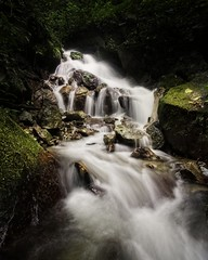 Lake Maninjau Small Waterfalls (amaurylrd) Tags: outdoor travel nature waterfalls stream jungle forest indonesia sumatra asia water green trees
