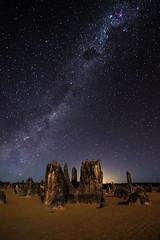 Night Sky at The Pinnacles Desert - Western Australia (inefekt69) Tags: carina nebula pinnacles desert night sky stars space milky way coal sack western australia nikon d5500 13mm tokina explore explored