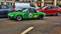 Porsche 914 JYS 914 (D.T.Morris) Tags: classic sports car jys914 914 porsche friern barnet london david morris dtmphotography