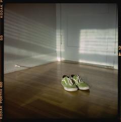 ROLL 175 (travislikesfilm) Tags: travisyoung travislikesfilm photography vans tnt tonytrujillo electricgreen limegreen rolleiflex 28e kodakportra400 mediumformat film analog goldenhour shadows minimalistic