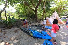 IMG_7368 (諾雅爾菲) Tags: taiwan camping 台灣 墾丁 露營 香蕉灣原始林露營區 熊帳 coleman 印地安帳