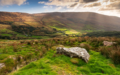 cork (1copperhead) Tags: ireland cork countryside godrays rolling hills mountains beautiful eire landscape nikon d7200