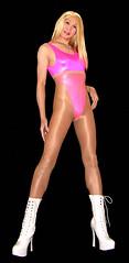 0515 (Youko_Kishida) Tags: fetish crossdresser tgirl leotard crossdressing pantyhose stocking tights lycra
