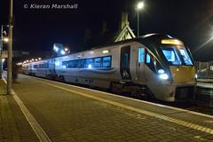 22004 at Portlaoise, 28/1/19 (hurricanemk1c) Tags: railways railway train trains irish rail irishrail iarnród éireann iarnródéireann portlaoise 2019 22000 rotem icr rok 3pce 22004 1830portlaoiseheuston