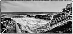 Youghal (coffee robbie..PROTECTED BY PIXSY) Tags: youghal eochill eire europe rocks nikond5100 nikon blackandwhite bw beach tokina1116mmf28 outdoor