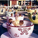 Mad Tea Party at Disneyland, 1955