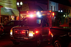 Medical Emergency (J McCallister) Tags: emergency ambulance firetruck collierville tn townsquare