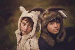 Will you keep out all the sadness? (Adriana Gomez Photography) Tags: boy boyhood wherethewildthingsare animal animalhat availablestockimage stock horizontal colorimage wild childhood adolescence greeneyes outdoors boys son ferel children preteen