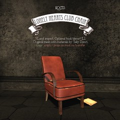 "[noctis] Lonely Hearts Club Chair - MadPea Premium Alliance ""The Lonely Hearts Club"" Hunt (MadPea Productions) Tags: madpea productions madpeas premium alliance hunt prize prizes collaboration collab decor decoration furniture hunts mystery fun excitement"