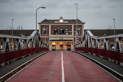 Middelburg station (graufuchs) Tags: europa europe netherlands nederland niederlande walcheren zeeland fuji fujinon fujixh1 fujinon35mmf14 35mm lightroom lr evening abend avond city stadt dämmerung dusk bluehour 2019