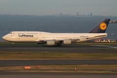 D-ABYH B747-800 Lufthansa (JaffaPix +5 million views-thanks...) Tags: dabyh b747800 747 b747 b748 boeing jumbo lufthansa dlh tokyoairport japan aircraft airplane aeroplane aviation flying flight runway airline airliner hnd rjtt haneda tokyohaneda hanedaairport planespotting