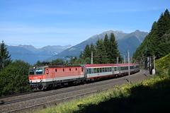 1144 031, IC 592 ( Salzburg > Klagenfurt ). Penk (M. Kolenig) Tags: 1144 intercity tauernbahn baum wald berg