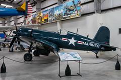 Vought F4U-4 Corsair (Serendigity) Tags: arizona corsair f4u4 pimaairspacemuseum tucson usmarines usa unitedstates vought wwii aircraft aviation hangar indoors museum unitedstatesofamerica